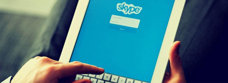 Skype - Συνεδρίες εξ'αποστάσεως